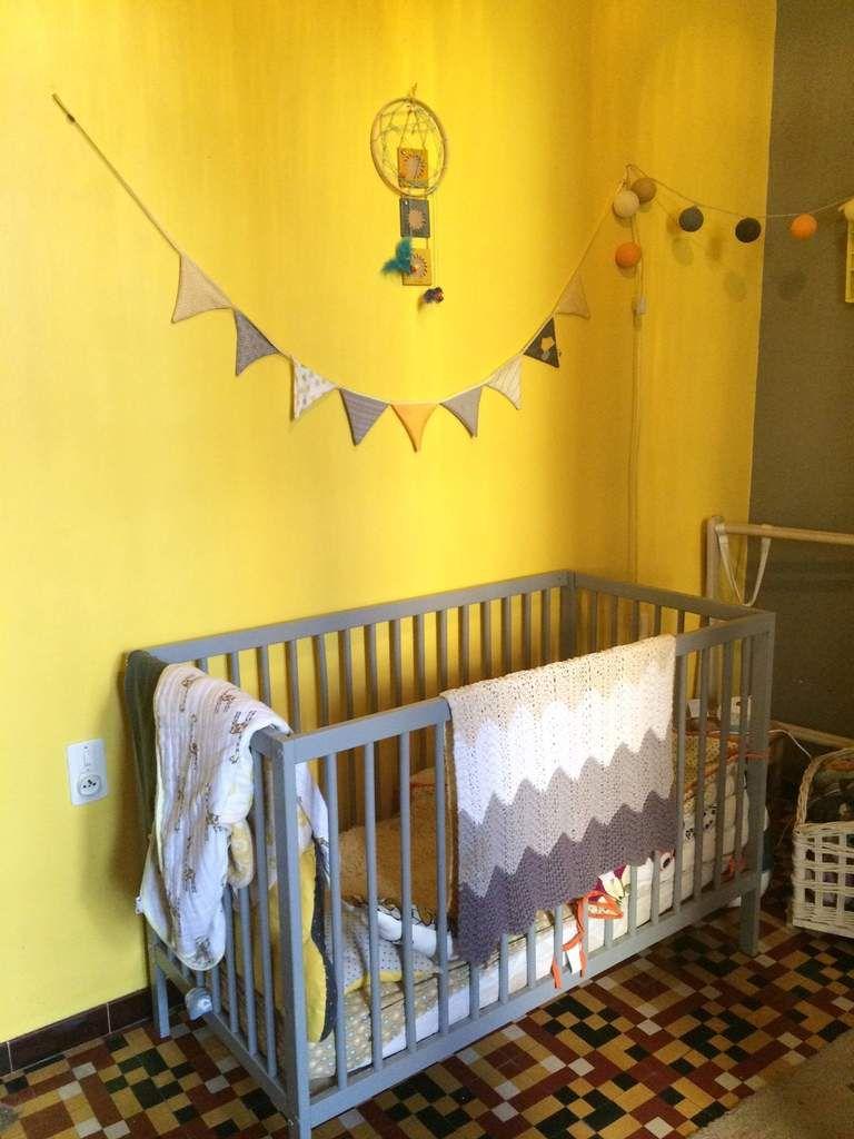 La petite chambre jaune et grise (2 ans après) - Croque Madame