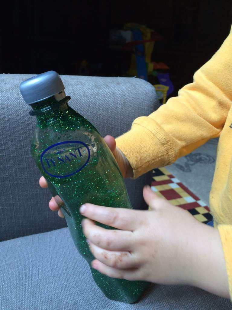 Gerer les colères :La bouteille de retour au calme