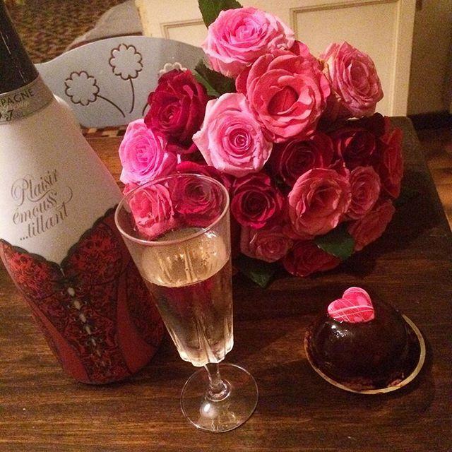 Le bon dessert de Saint Valentin