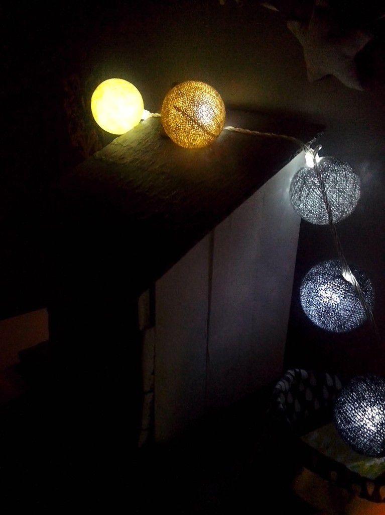 De la magie lumineuse dans mon salon