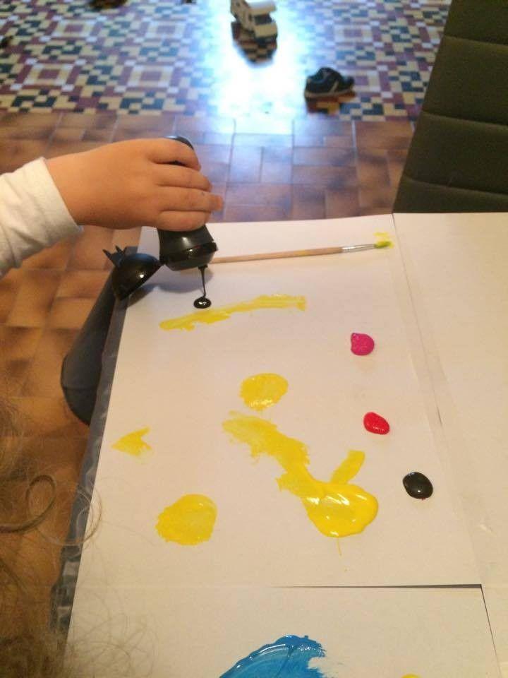 Color'Peps de Maped, la peinture des petits super heros en herbe