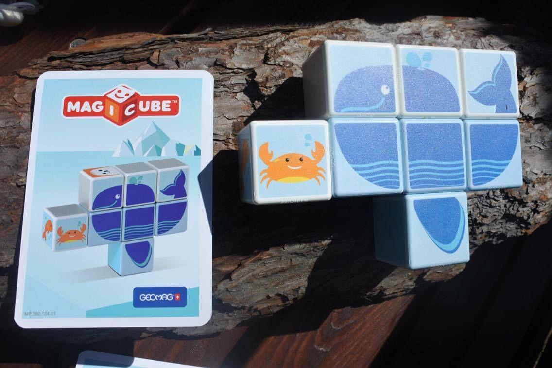 Magicube, ou quand le jeu de construction devient aussi un jeu d'enfant (Test et avis)