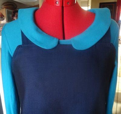 Robe bleue marine Olive Charlie