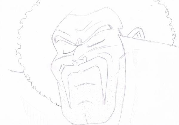 Mr Satan au crayon