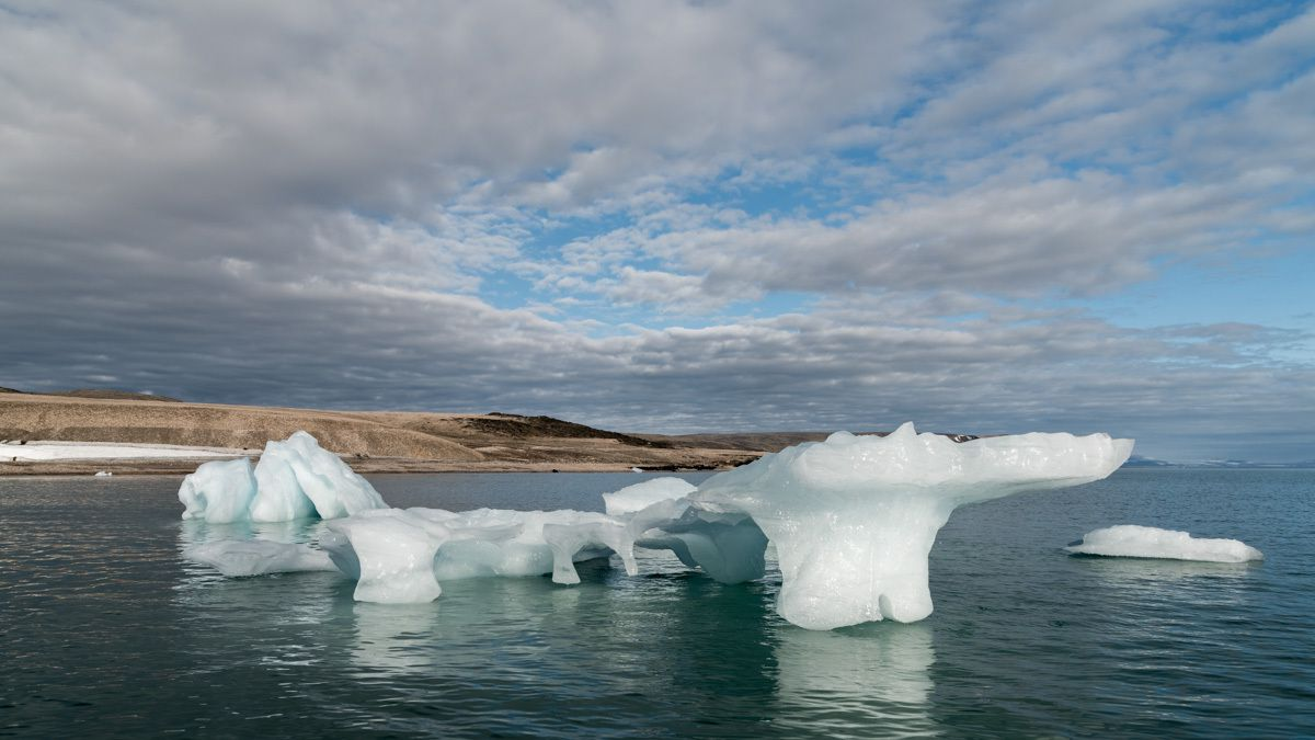 Les glaciers du Svalbard-Spitzberg