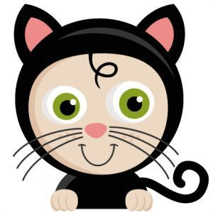 """..thème halloween.. """" bandeau petit chat noir """""""