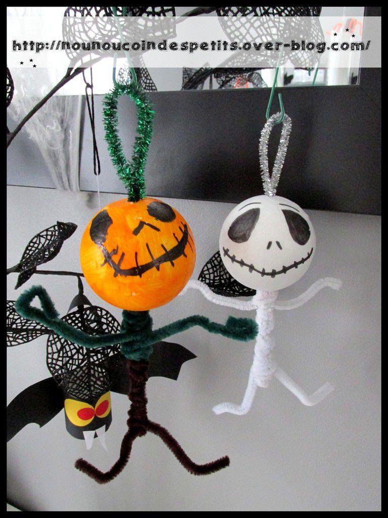 .. thème halloween .. &quot&#x3B; Mr Jack et Mr citrouille &quot&#x3B;