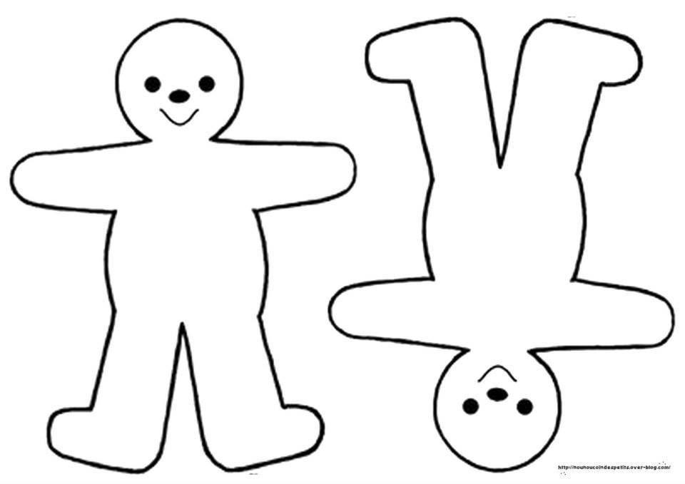 Pour noel le blog de nounoucoindespetits - Le dessin du bonhomme ...
