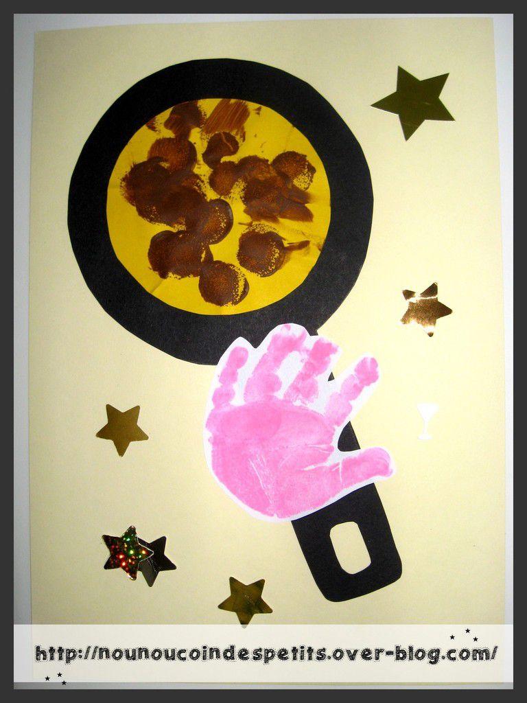.. Chandeleur .. &quot&#x3B; poêle a crêpe et comptine recette des crêpes &quot&#x3B;