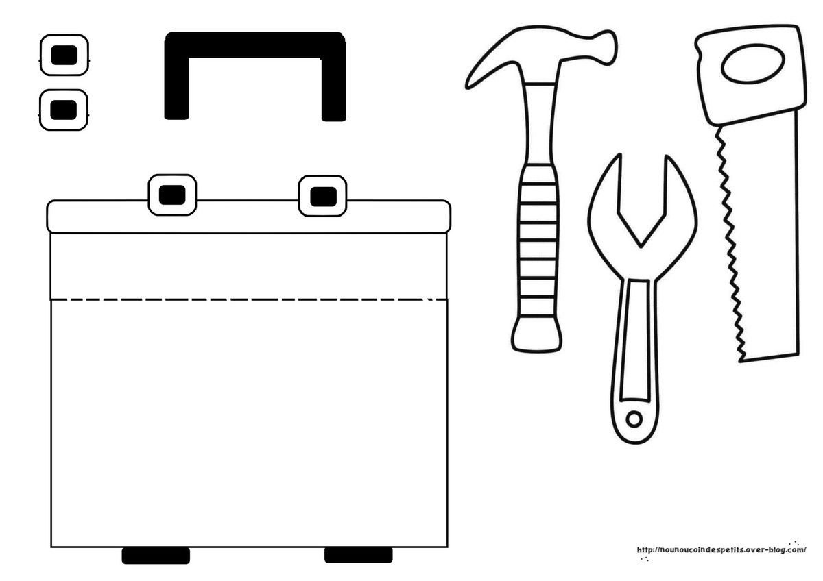 .. Dans la boite a outils de papa il y a ..