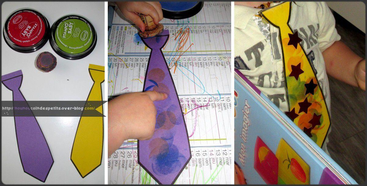 .. La cravate de PAPA ..
