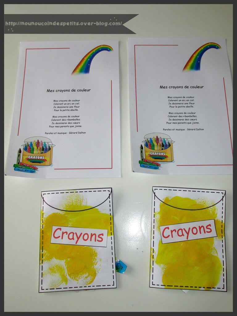 .. Mes crayons de couleur ..