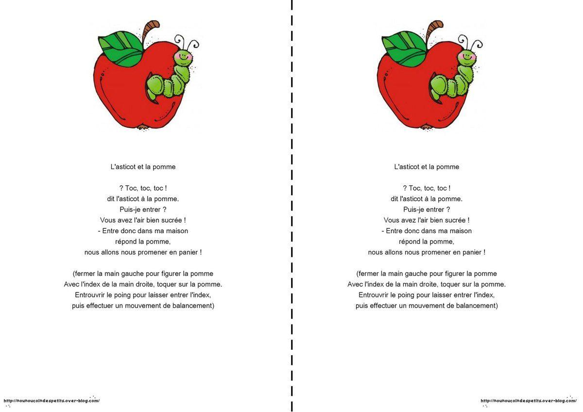 .. L'asticot et la pomme ..