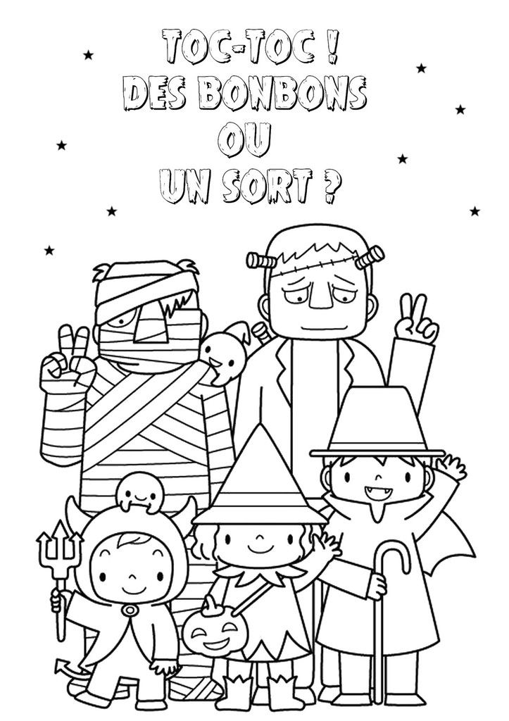 Coloriage d 39 halloween le blog de nounoucoindespetits - Coloriages d halloween ...