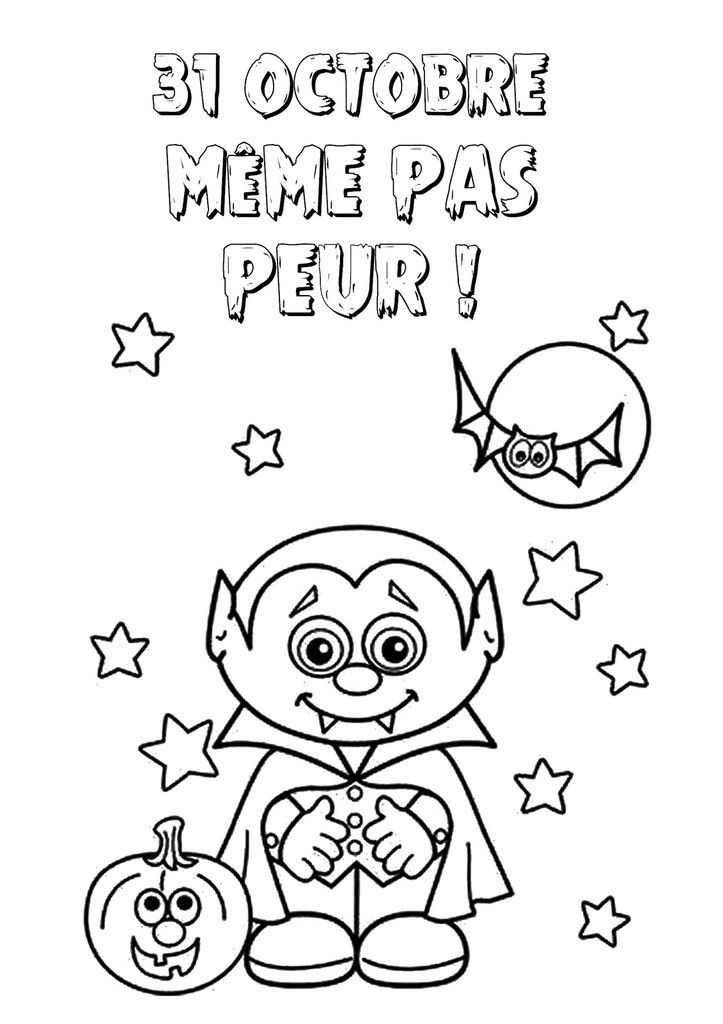 .. Coloriage d'halloween ..