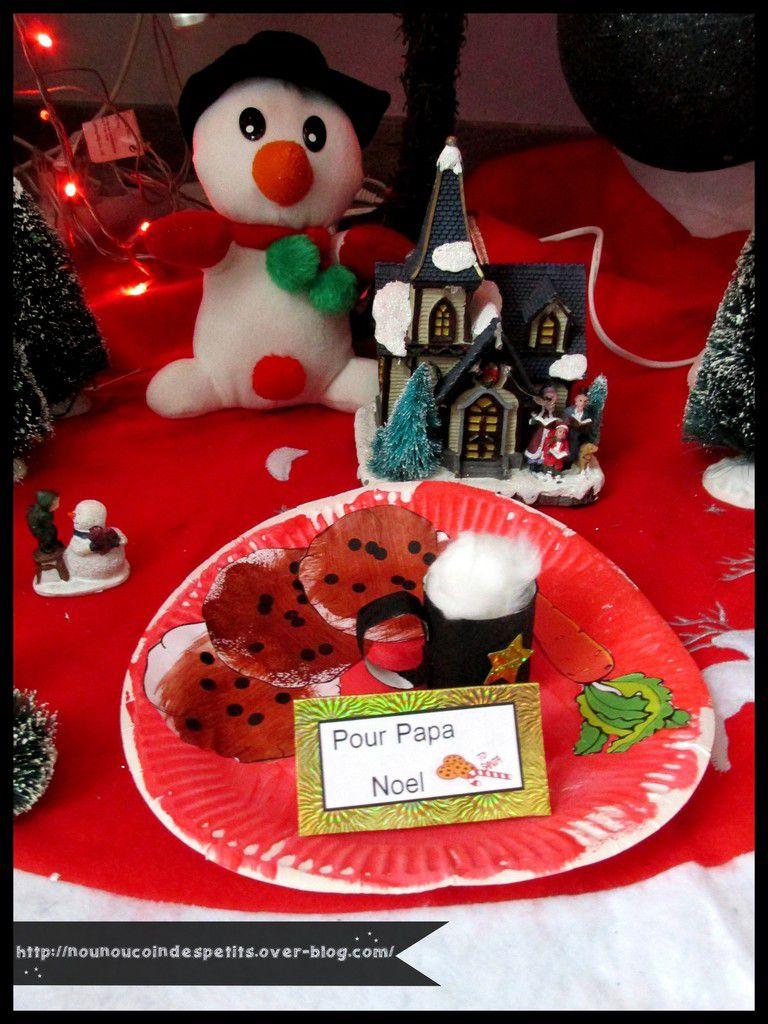 .. Assiette gourmande pour Papa Noel ..