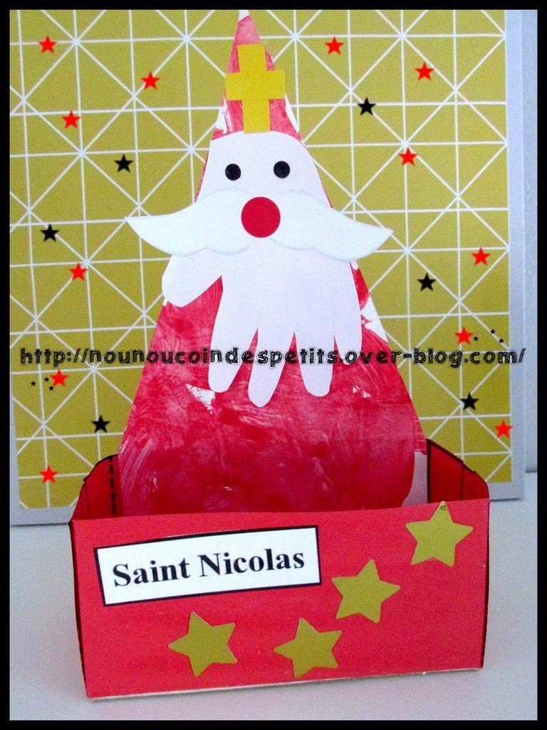 .. Boite a biscuit ou chocolat Saint Nicolas ..