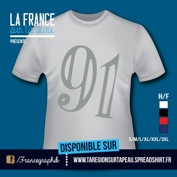 Essone - Département 91 - disponible en T-shirt, débardeur, sweatshirt, casquette, mug, tasse, sac, bag, badge, body, etc...