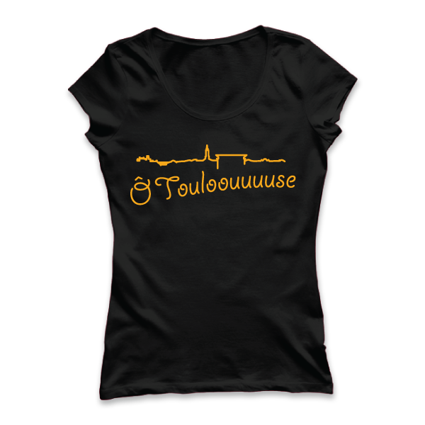 Ô Toulouse - disponible en T-shirt, débardeur, sweatshirt, casquette, mug, tasse, sac, bag, badge, body, etc...