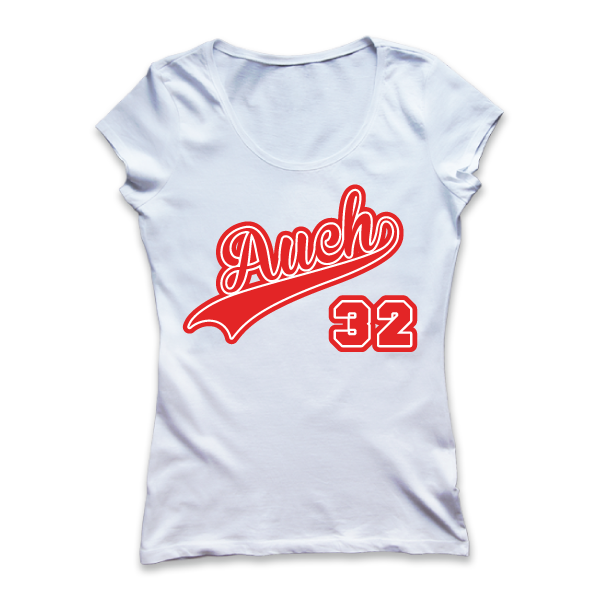 Auch - Ville - 32 - disponible en T-shirt, débardeur, sweatshirt, casquette, mug, tasse, sac, bag, badge, body, etc...