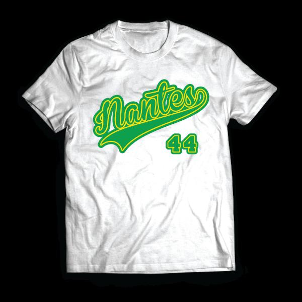 T-shirt: France - Pays de la Loire - Nantes - 44 - disponible en T-shirt, débardeur, sweatshirt, casquette, mug, tasse, sac, bag, badge, body, etc...
