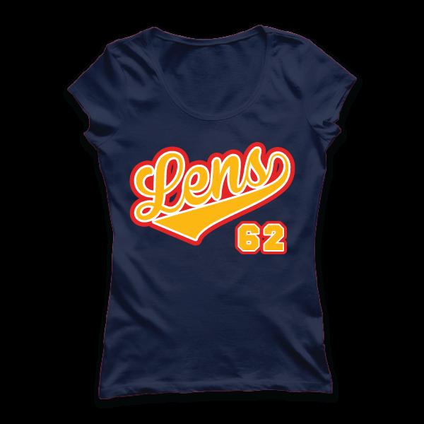 T-shirt: Nord-Pas-de-Calais - Lens - Ville - 62 - disponible en T-shirt H/F, débardeur, sweatshirt, casquette, mug, tasse, sac, bag, badge, body, etc...