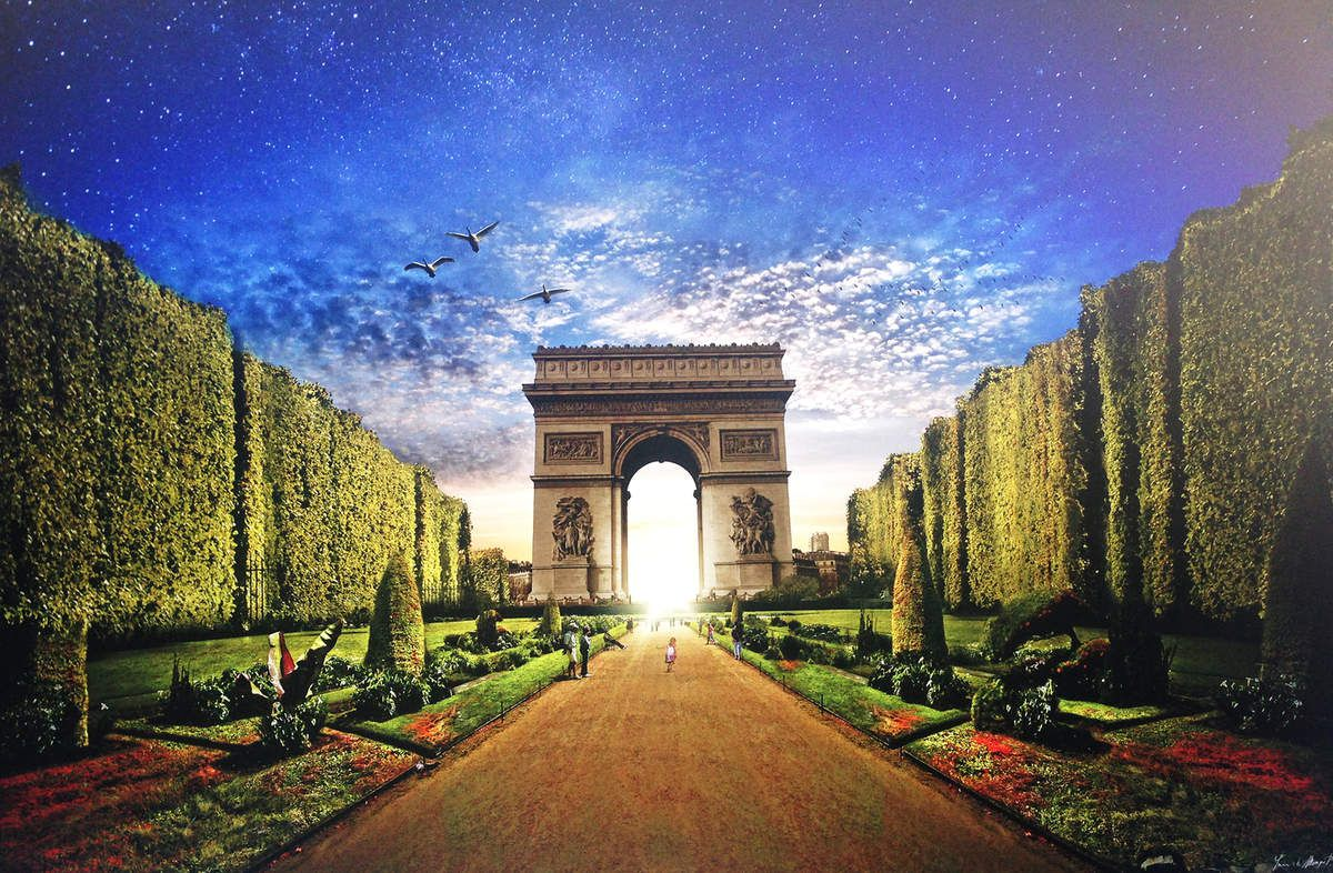 Arc de Triomphe & Champs-Élysées - Paris