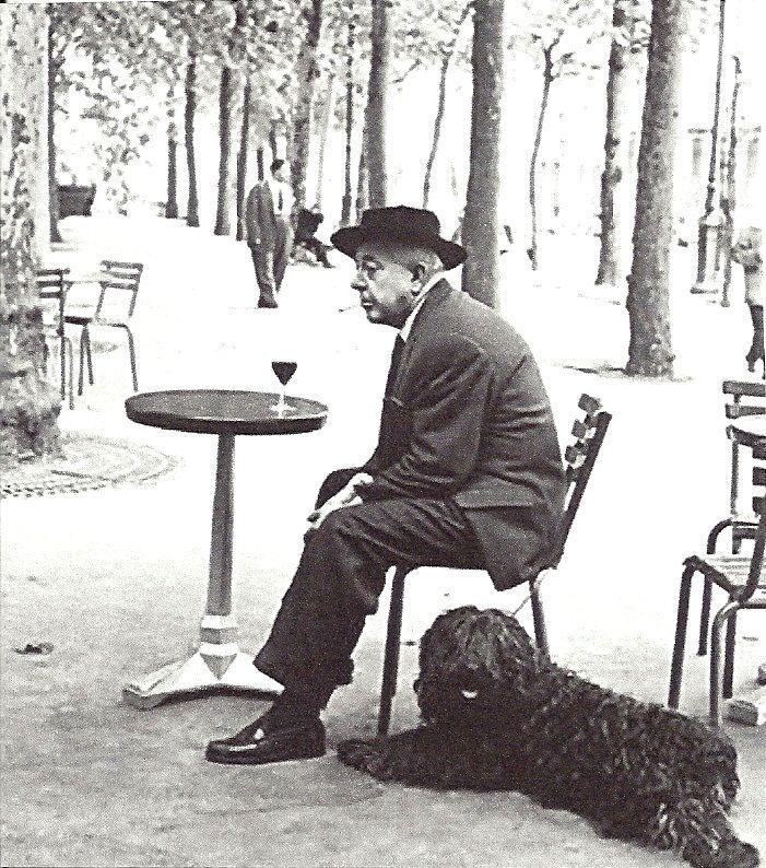 Jacques Prévert, photographié par Robert Doisneau