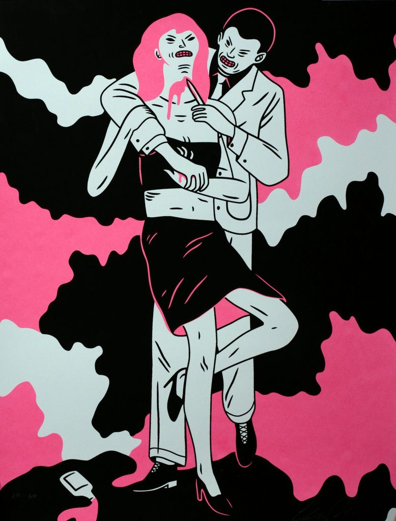 Forest 2 - 34 x 44 cm - Cleon Peterson - Est. 500 à 800 €