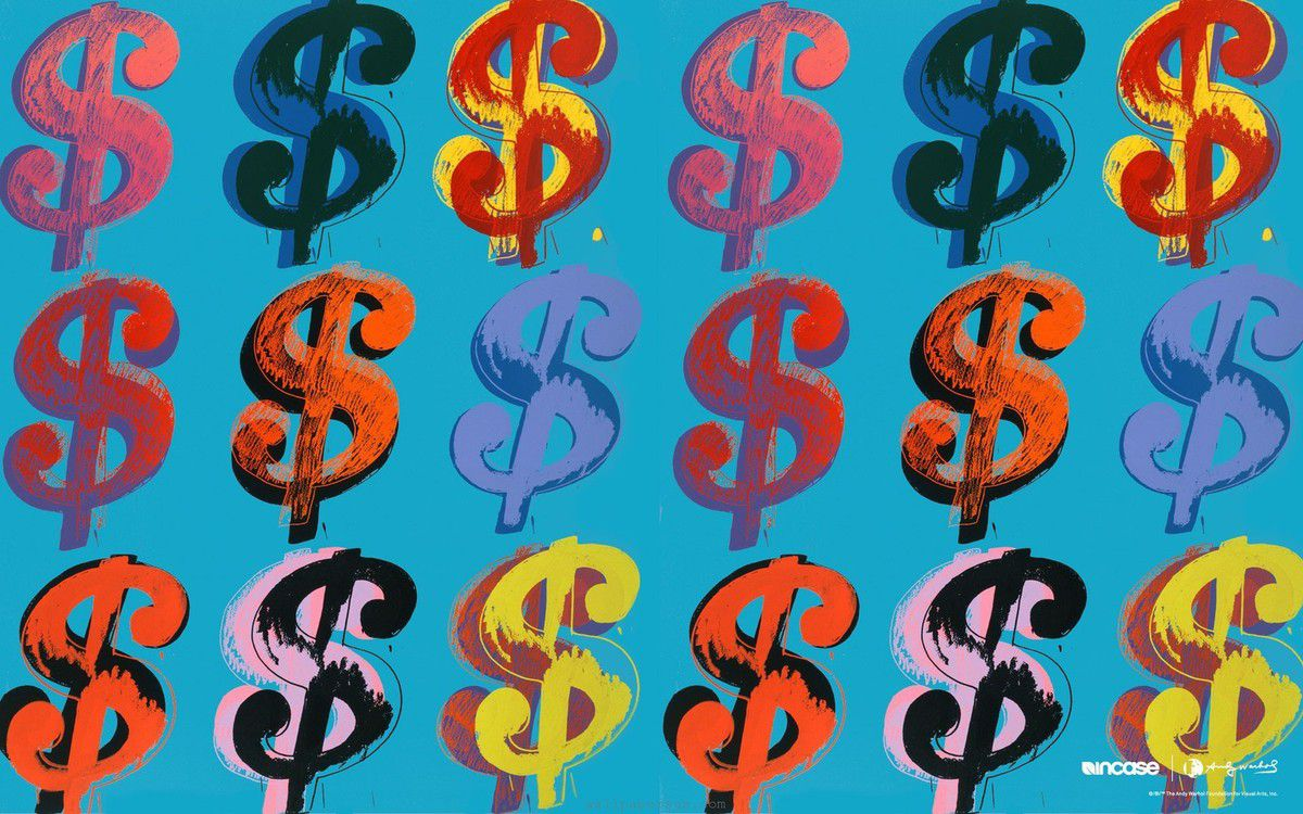 Dollars - Andy Warhol