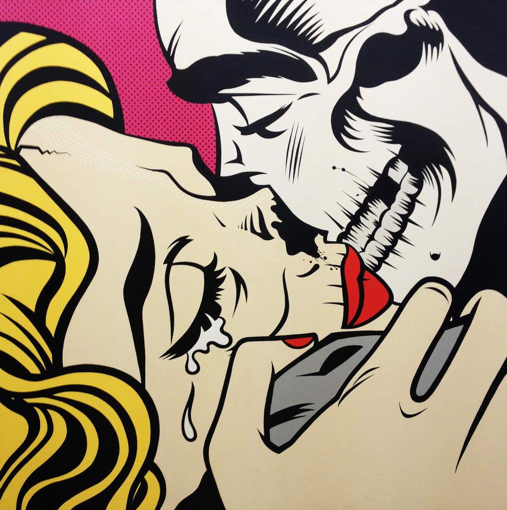Kiss of death - © Dface