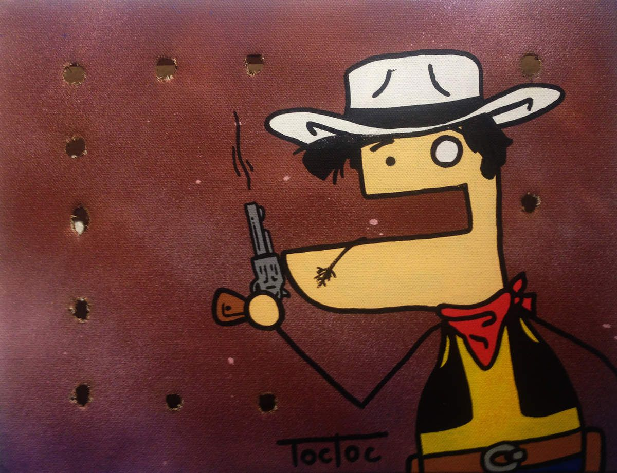 Lucky Luke - 150 € - © Toc Toc
