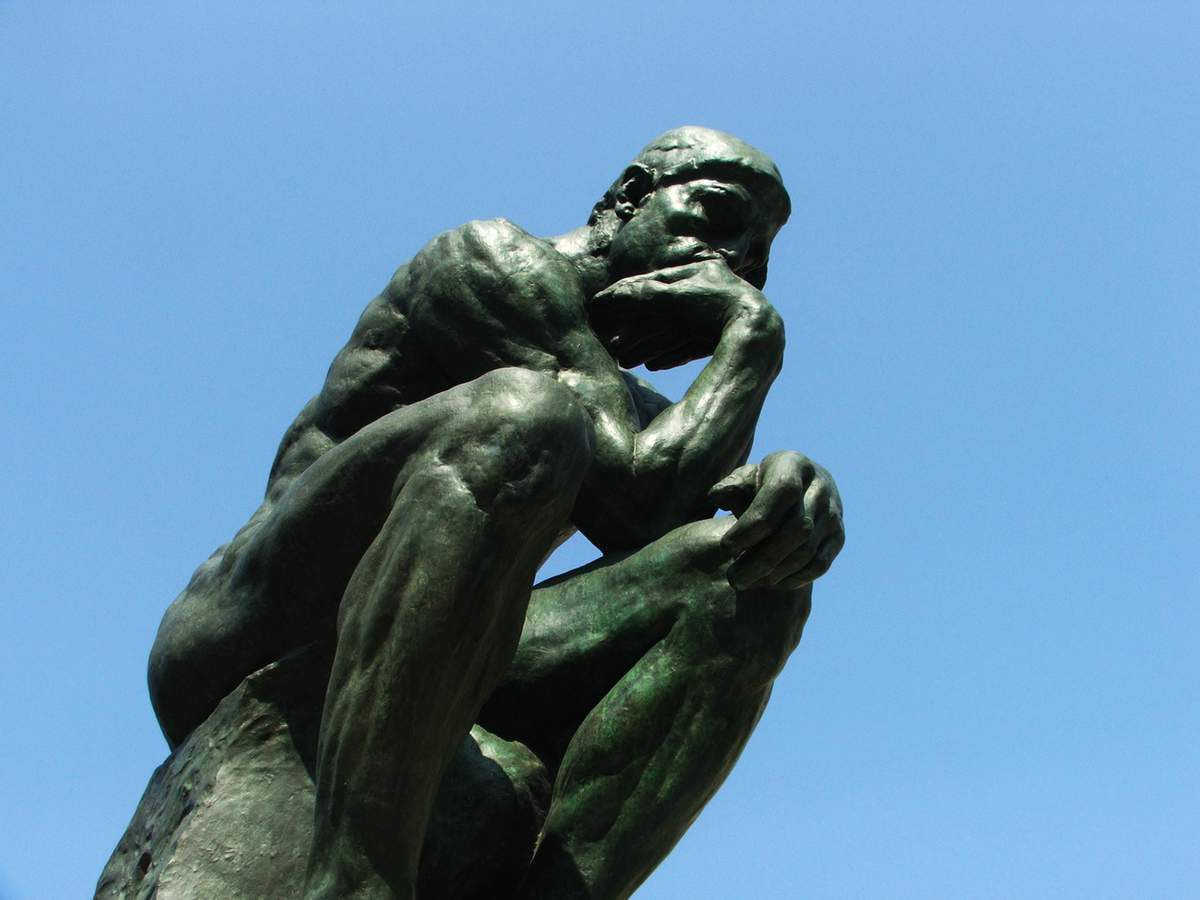 Le penseur - © Rodin
