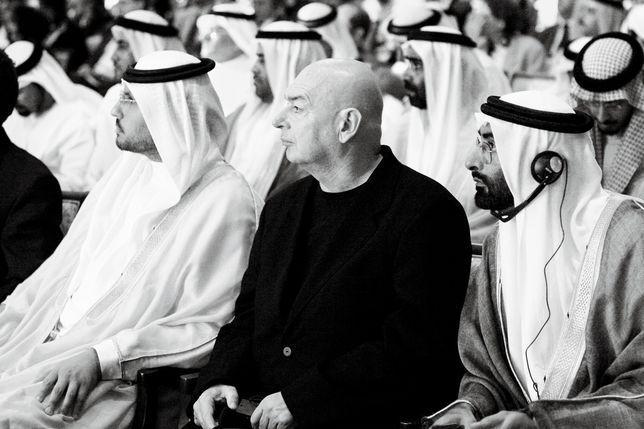 Jean Nouvel, l'arcitecte en cahrge du Louvre d'Abu Dhabi