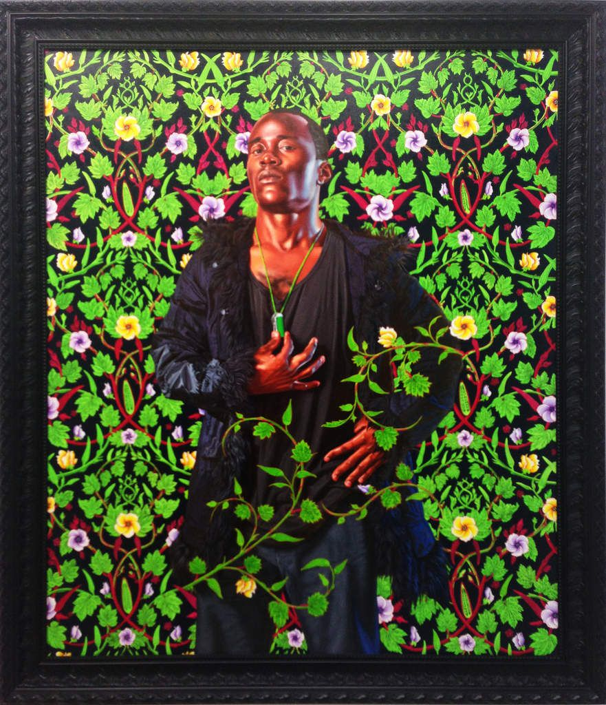 Elizabeth of France, Queen of Spain - Kehinde Wiley - Galerie D. Templon - FIAC 2016