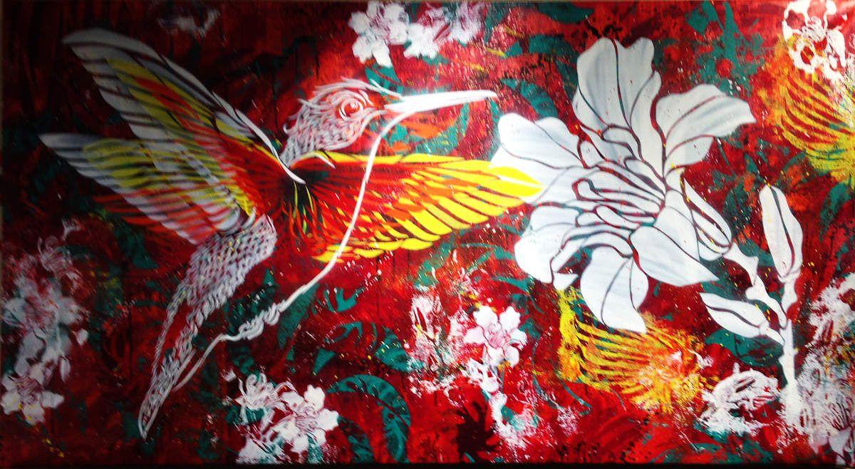 Tout en beauté / Battement d'ailes - © Stew