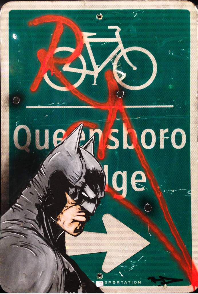 Batman On Queensborro Bridge - 800/1200 € - RD357