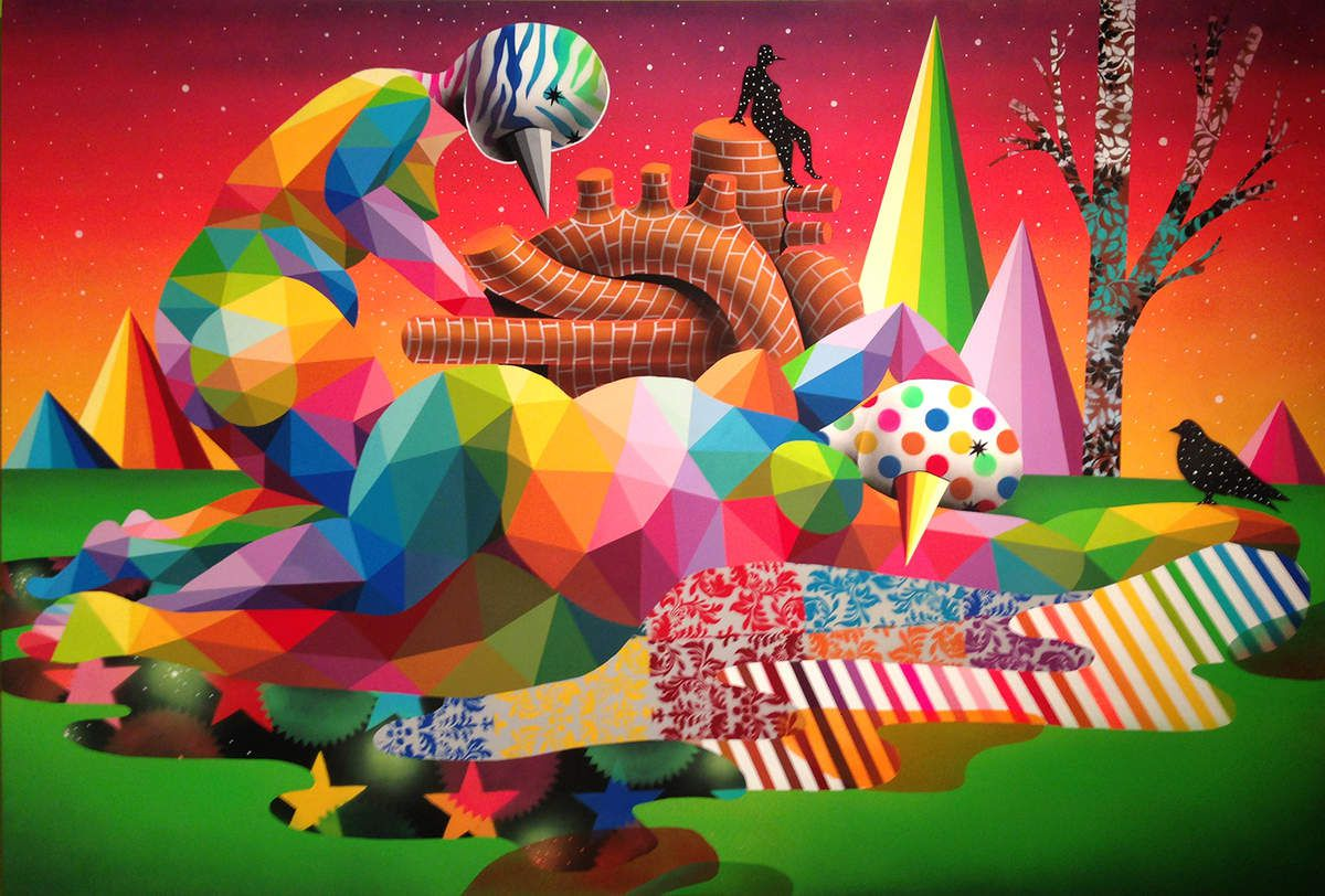 The relief of he muses - © Okuda