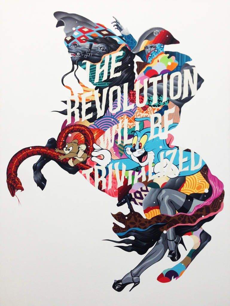 The Revolution Will Be Trivialized - © Tristan Eaton