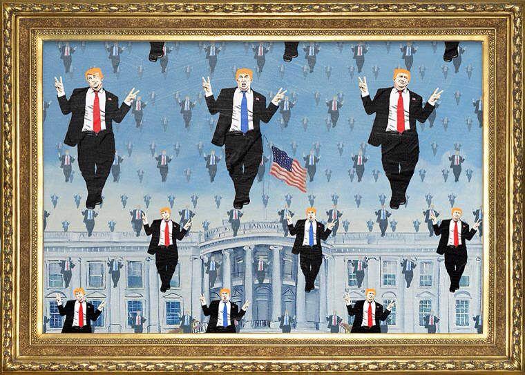 Et si Magritte avait connu Trump ?