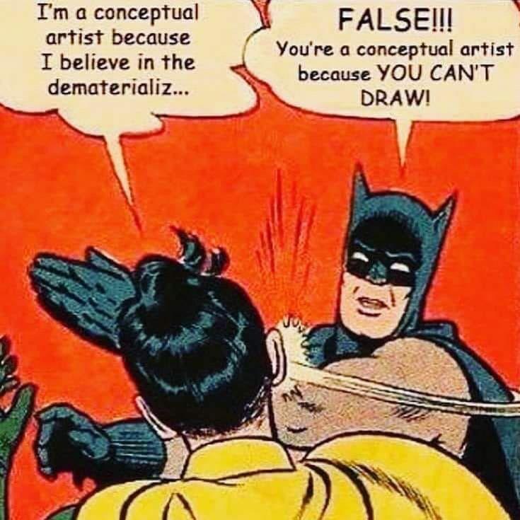 La vérité sur l'art conceptuel