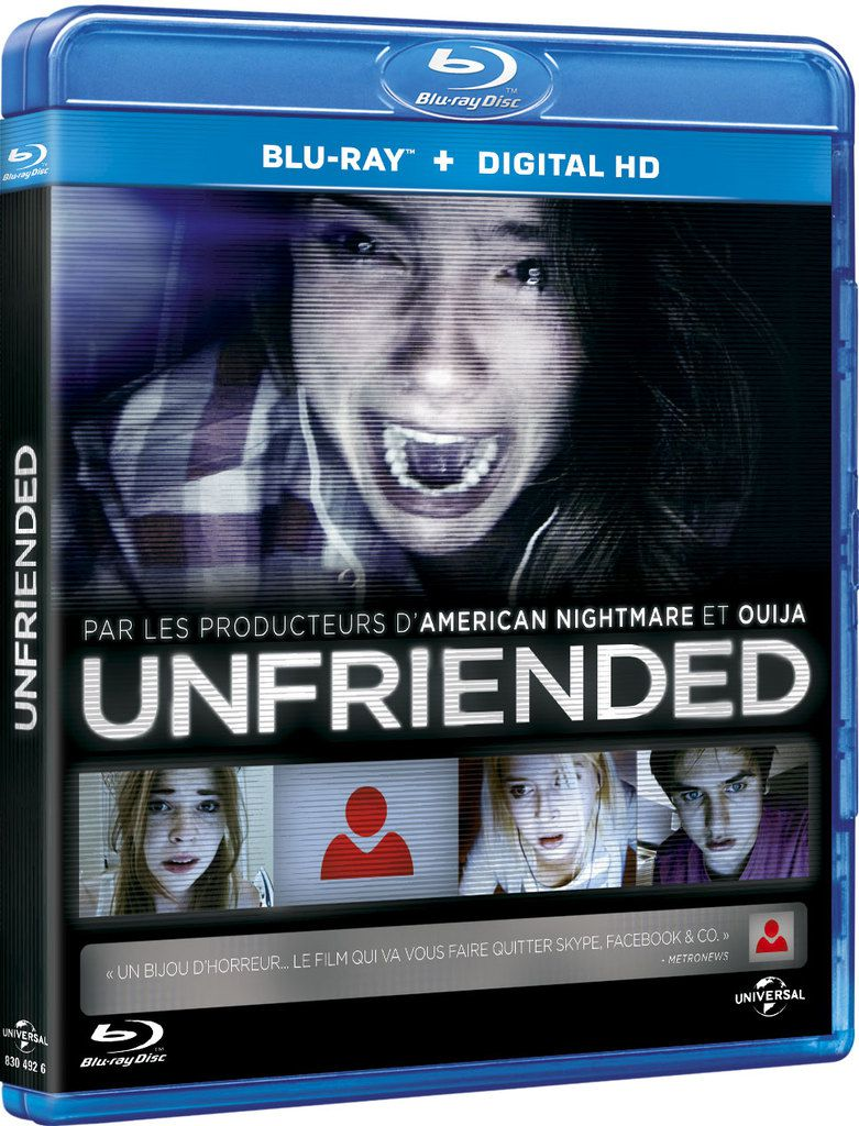 Unfriended disponible en DVD et Blu-ray !