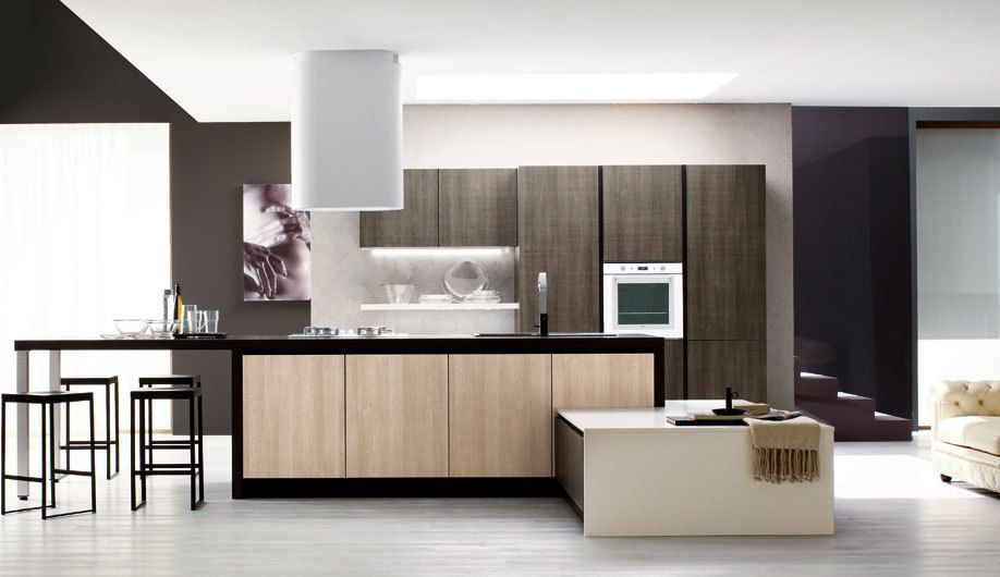 Cuisine contemporaine deco le cucine for Cuisines equipees italiennes
