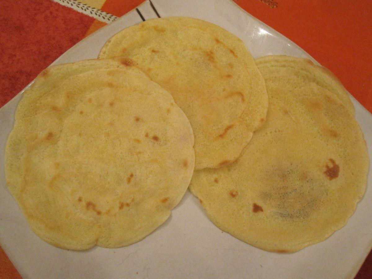 Récapitulatif de recettes de crêpes