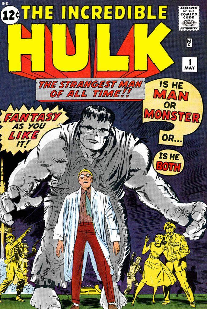 The Incredible Hulk #1 du 1 mai 1962