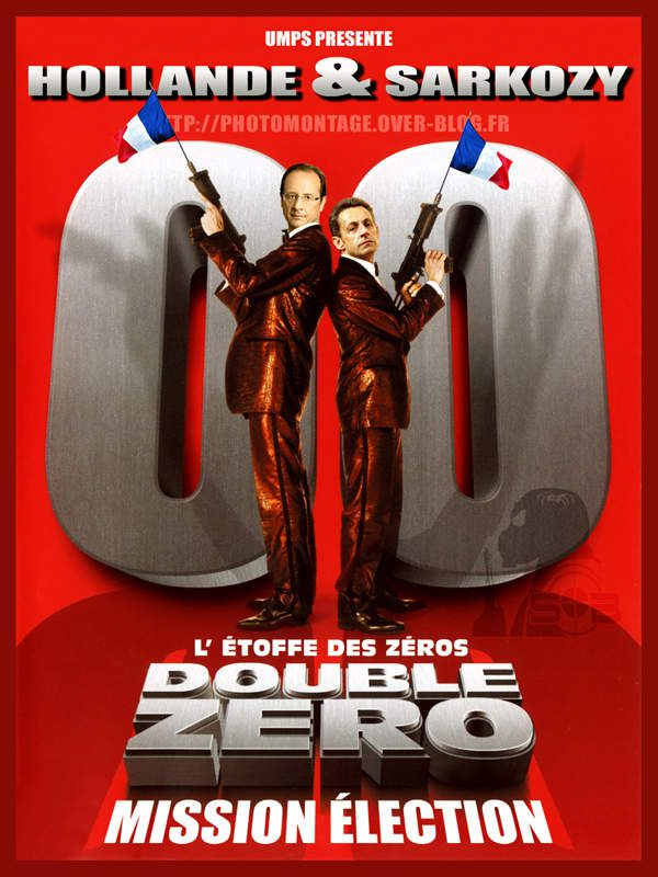 HOLLANDE et SARKOZY mission double zéro !