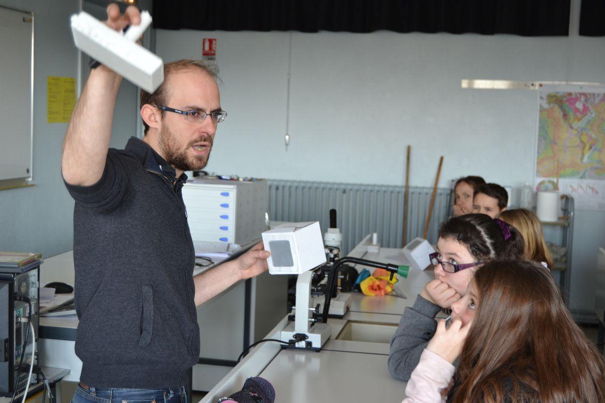 Les élèves de  3ème ont présenté leurs travaux de robotique!