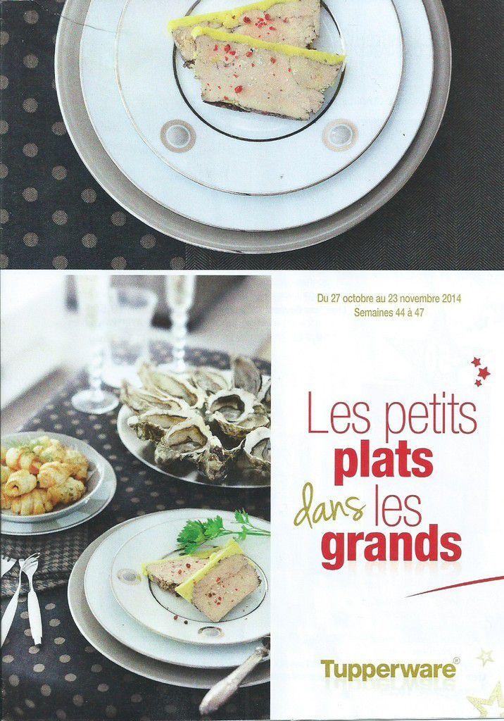 Les petits plats dans les grands - promo tupperware novembre 2014