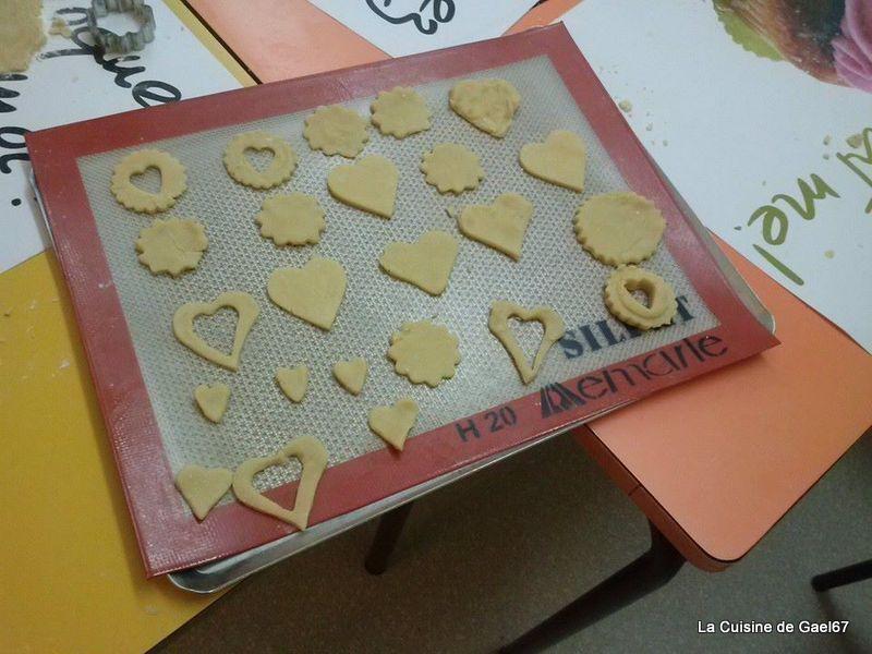 Atelier enfants TAP'S Soultz sous Forêts : les sablés surprise pour la Saint Valentin