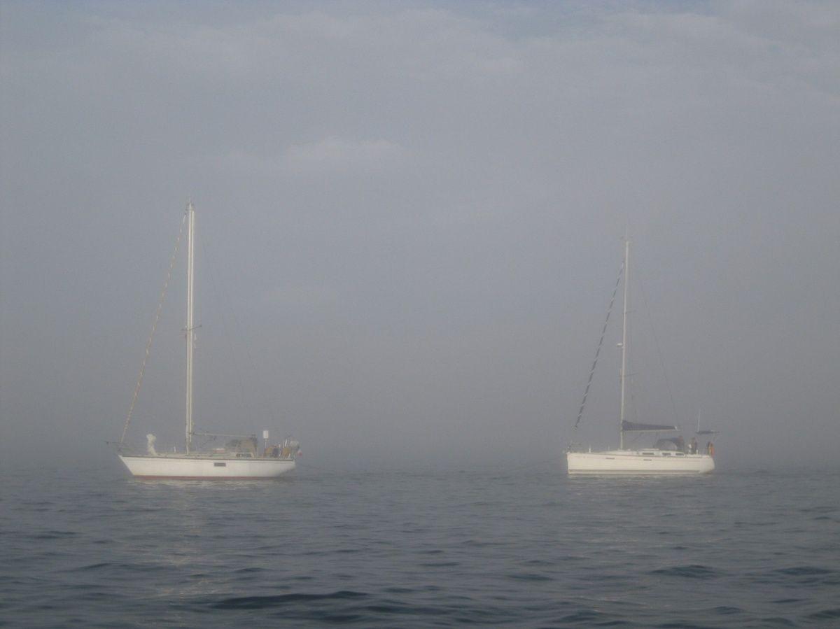 Islay et Eowyn dans la brume